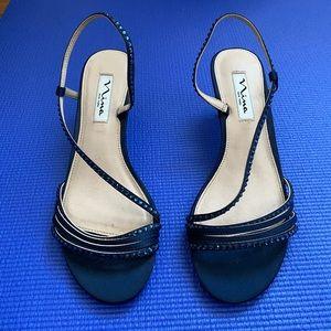 Size 7 Navy one Inch heels